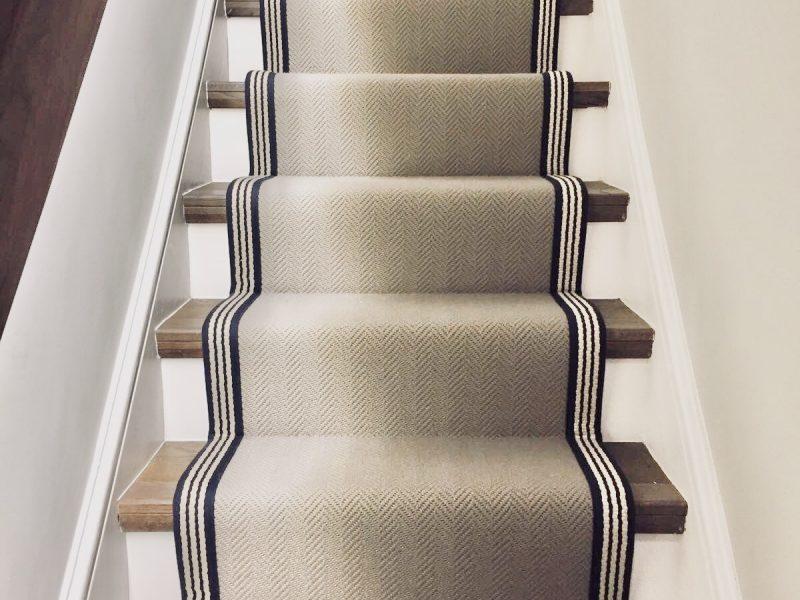 herringbone carpet runner