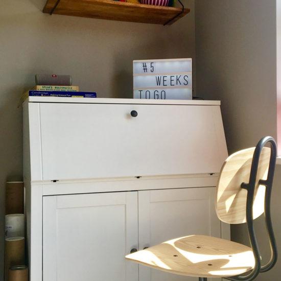 concealed workstation cabinet