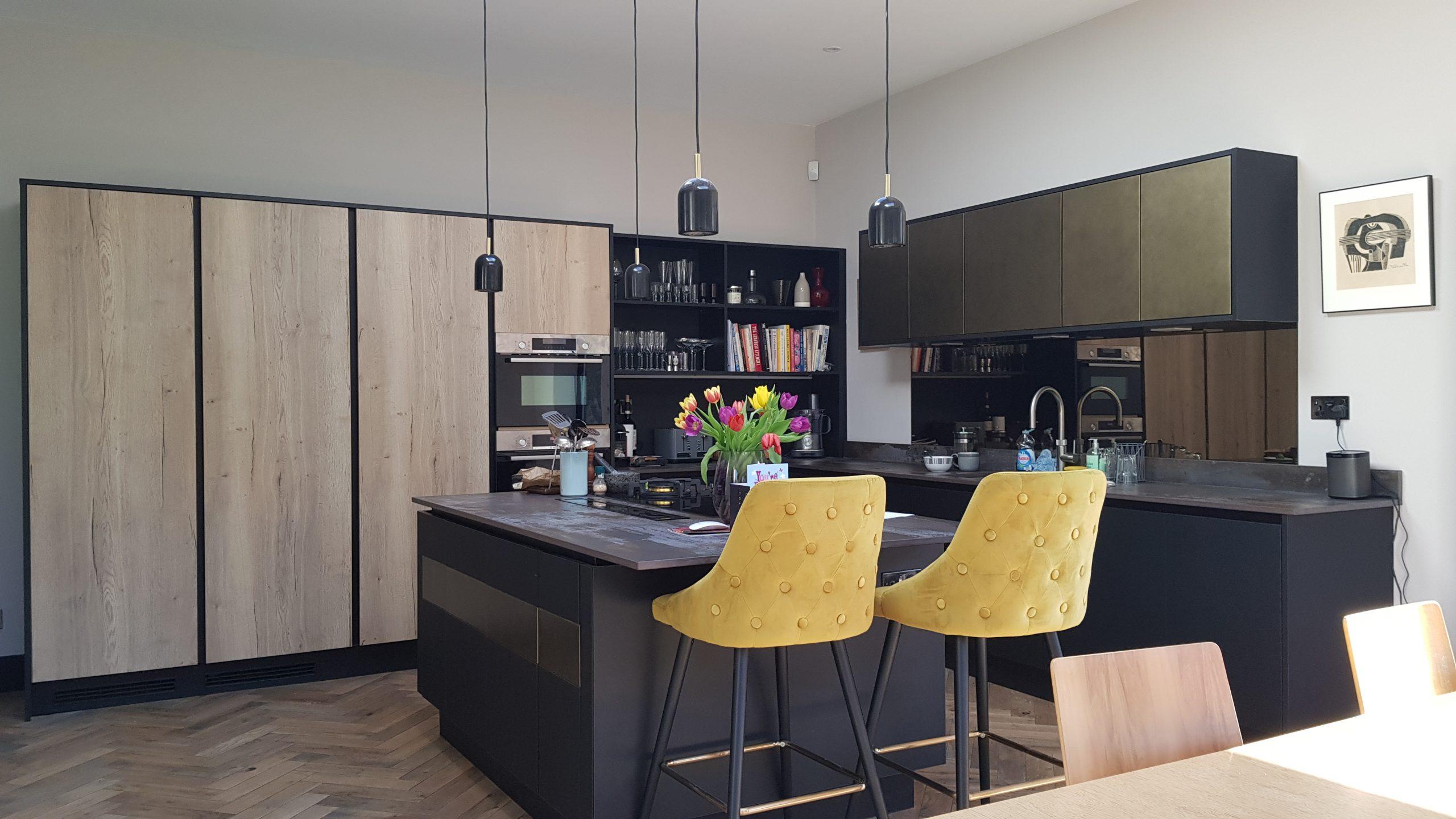 Mad Men style kitchen