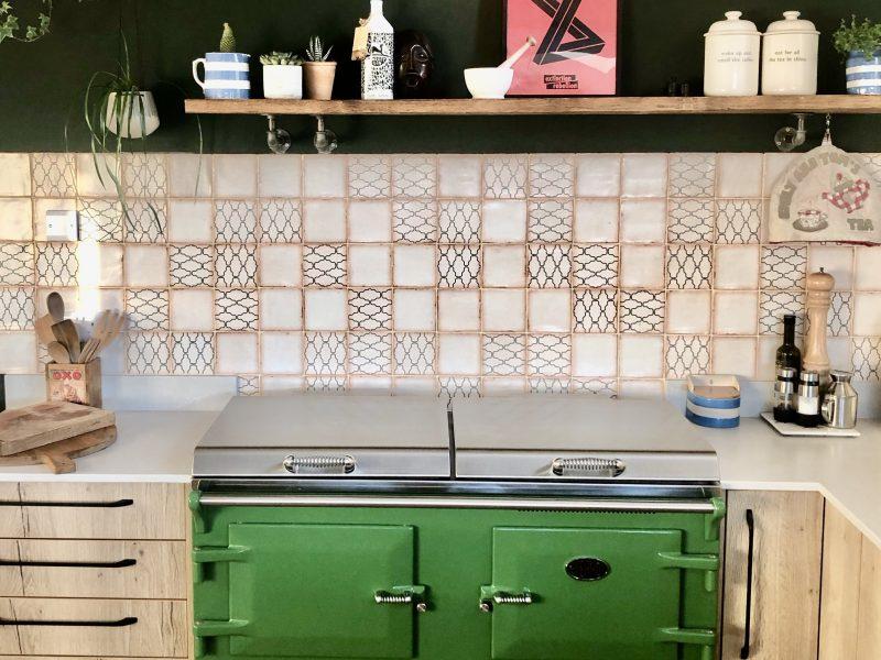 Everhot green range oven