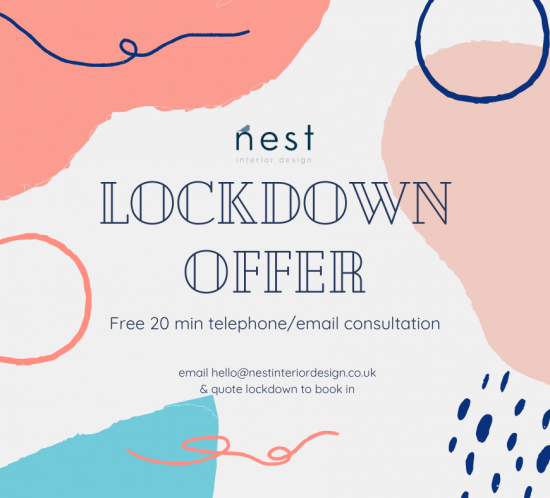 lockdown offer free interior design consultation